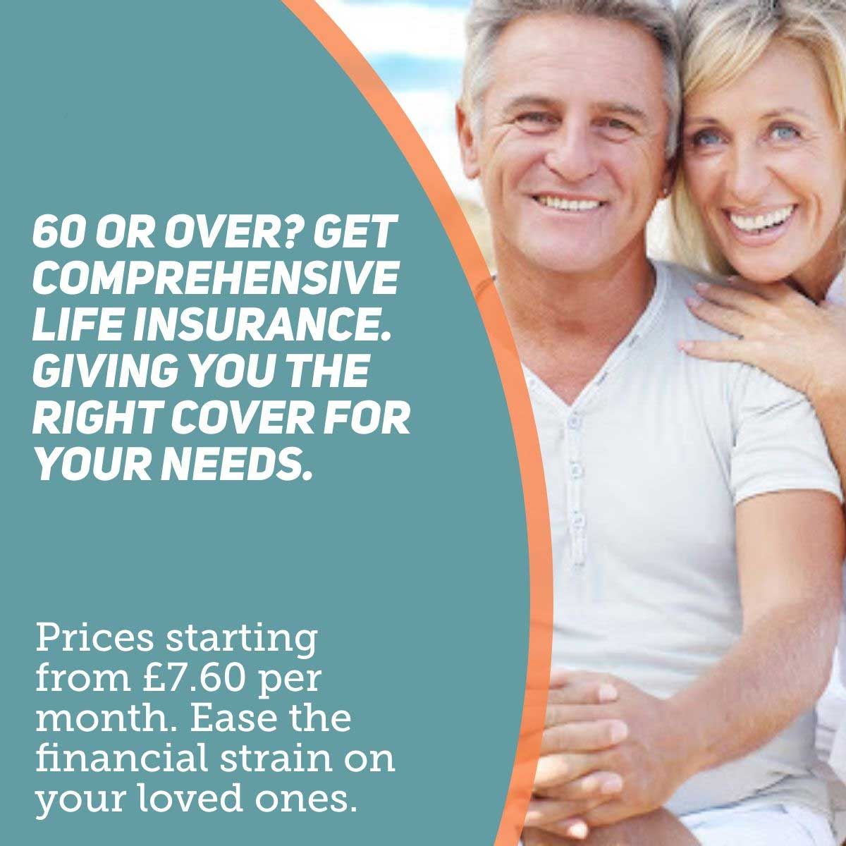life insurance over 60 image